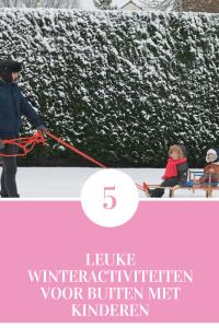 De leukste buitenactiviteiten in de winter met kinderen