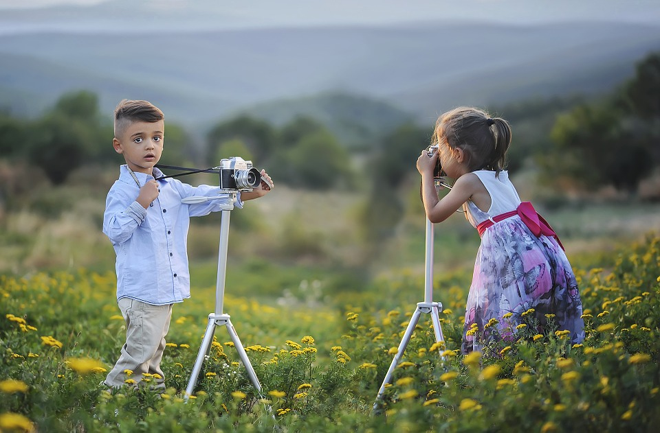 foto's van je kinderen