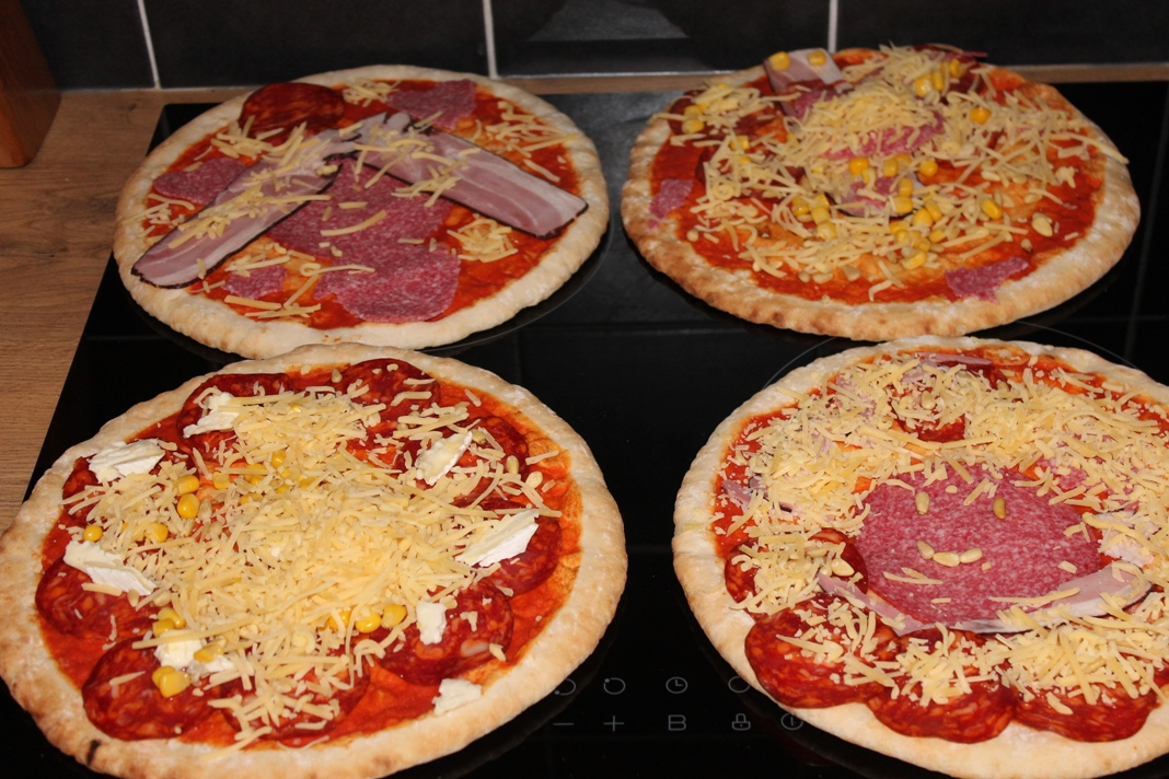 pizza maken