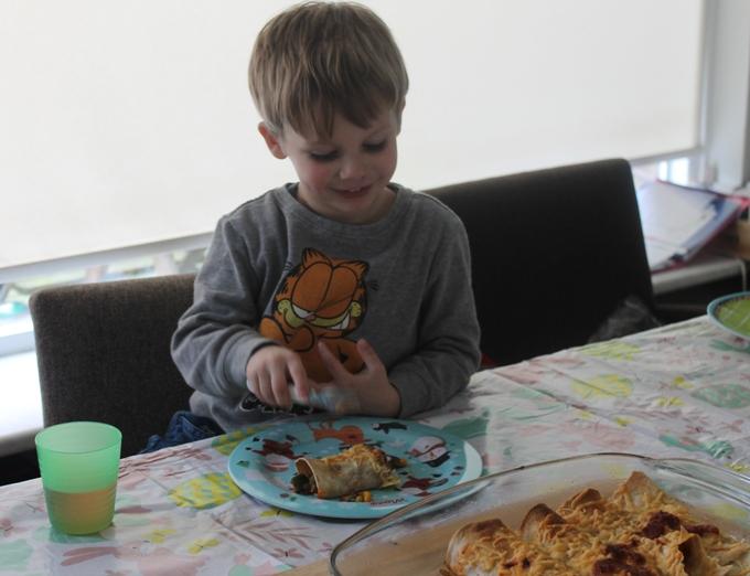 kinderen alles eten