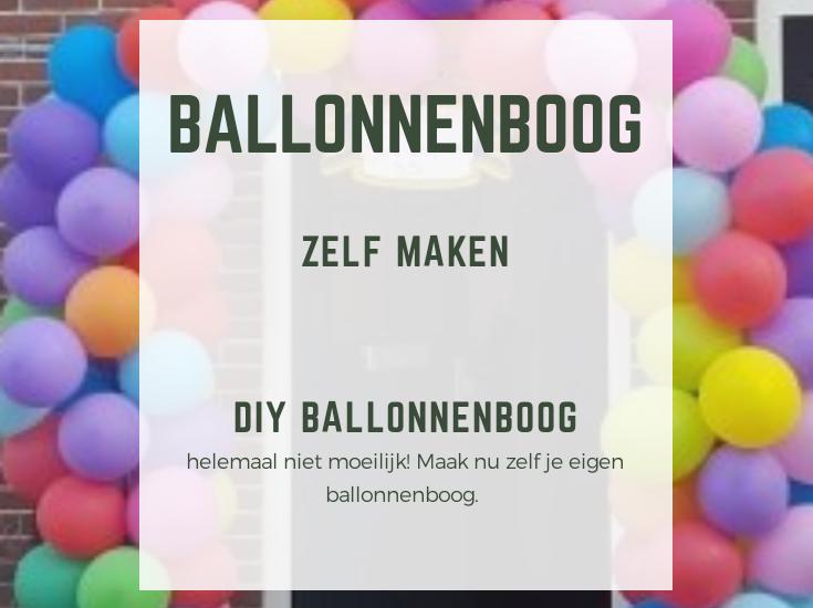 Nieuw Zelf een ballonnenboog maken is helemaal niet moeilijk! |DIY DE-96