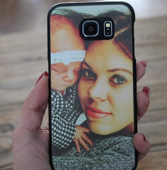 mama en de telefoon
