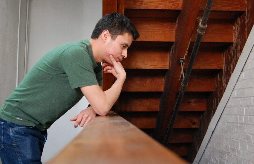 een postnatale depressie