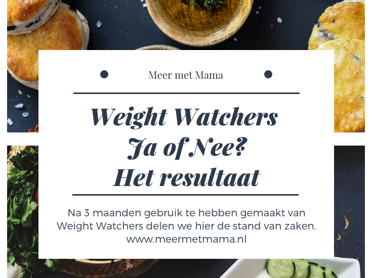 weight watchers eindstand