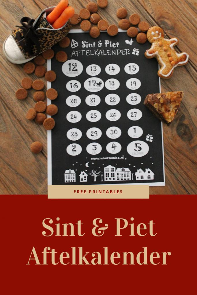 Free Printables van Sinterklaas