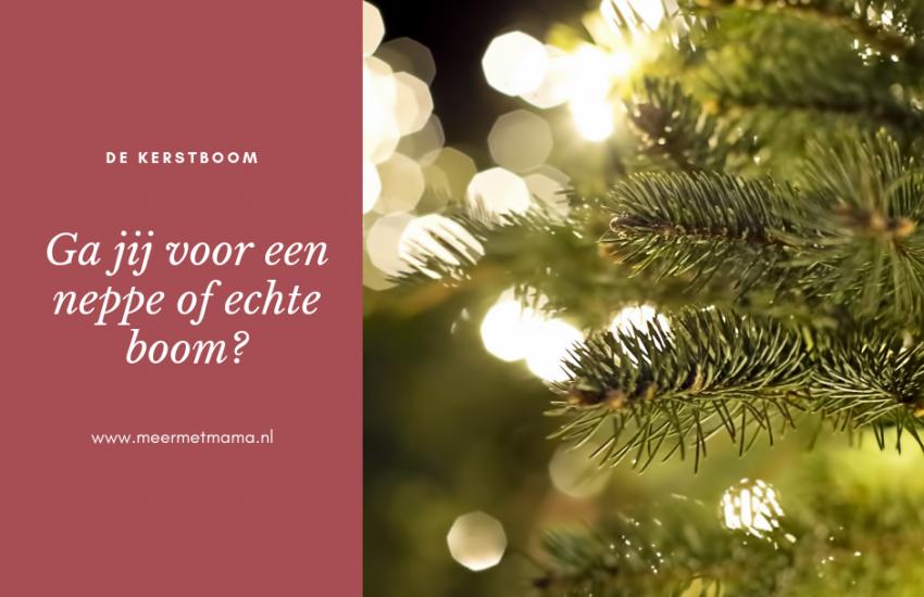 de kerstboom
