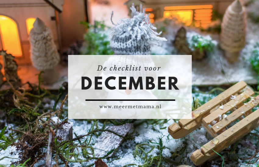 checklist december