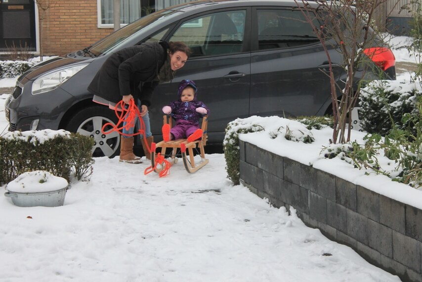 activiteiten in de sneeuw