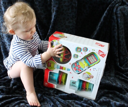 Sophie de giraf early learning toys set