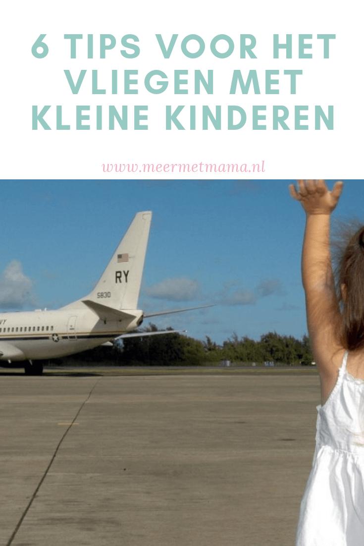 Vliegen met kleine kinderen