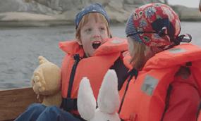 Casper en Emma op zoek naar de schat